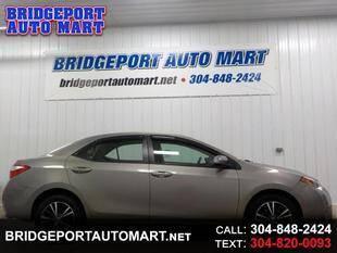 2016 Toyota Corolla for sale at Bridgeport Auto Mart in Bridgeport WV