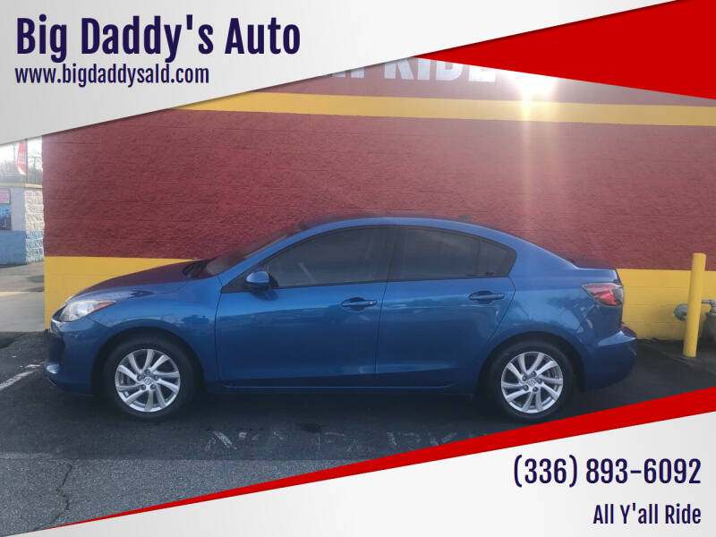 2012 Mazda MAZDA3 for sale at Big Daddy's Auto in Winston-Salem NC