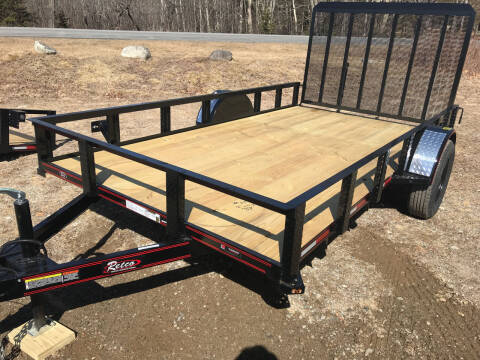 2021 zRettig 6x12Utility for sale at Greg's Auto Sales in Searsport ME