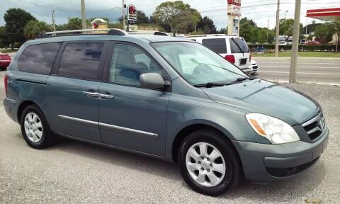 2007 Hyundai Entourage for sale at Pinellas Auto Brokers in Saint Petersburg FL