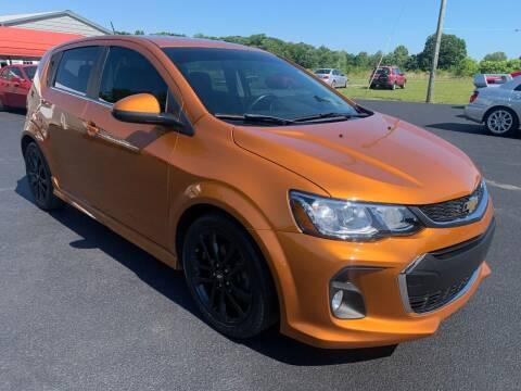 2017 Chevrolet Sonic for sale at Hillside Motors in Jamestown KY