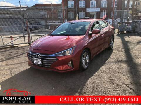 2019 Hyundai Elantra for sale at Popular Auto Mall Inc in Newark NJ