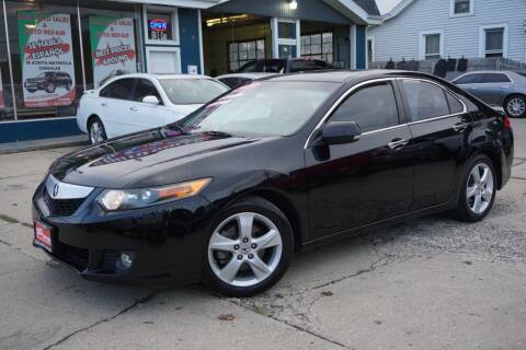 2009 Acura TSX for sale at Cass Auto Sales Inc in Joliet IL