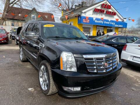 2010 Cadillac Escalade Hybrid for sale at C & M Auto Sales in Detroit MI