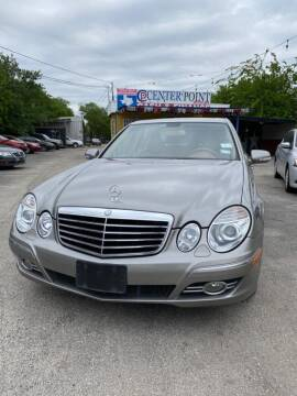 2008 Mercedes-Benz E-Class for sale at Centerpoint Motor Cars in San Antonio TX