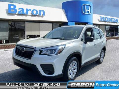 2019 Subaru Forester for sale at Baron Super Center in Patchogue NY