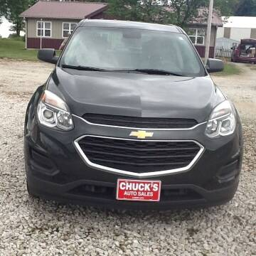 2017 Chevrolet Equinox for sale at CHUCK'S AUTO SALES in Lowry City MO