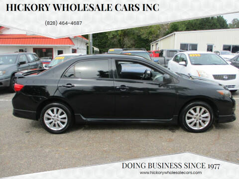 2010 Toyota Corolla for sale at Hickory Wholesale Cars Inc in Newton NC