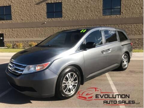2011 Honda Odyssey for sale at Evolution Auto Sales LLC in Springville UT