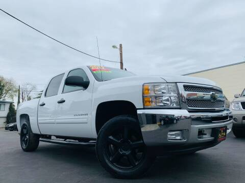 2012 Chevrolet Silverado 1500 for sale at Alpha AutoSports in Roseville CA