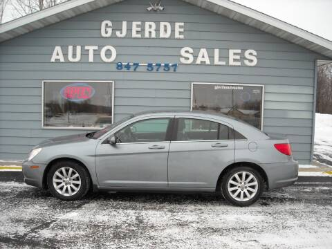 2010 Chrysler Sebring for sale at GJERDE AUTO SALES in Detroit Lakes MN