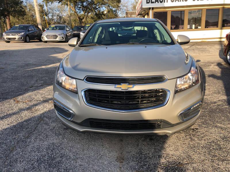 2015 Chevrolet Cruze for sale at Beach Cars in Fort Walton Beach FL