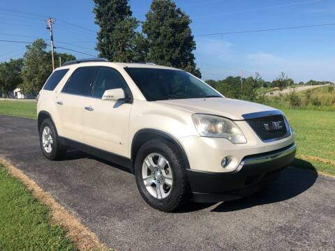2009 GMC Acadia for sale at Champion Motorcars in Springdale AR
