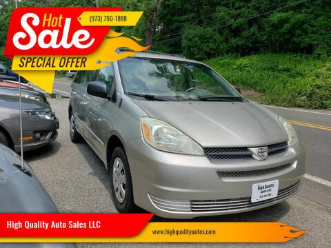 2004 Toyota Sienna for sale at High Quality Auto Sales LLC in Bloomingdale NJ