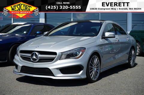 2014 Mercedes-Benz CLA for sale at West Coast Auto Works in Edmonds WA