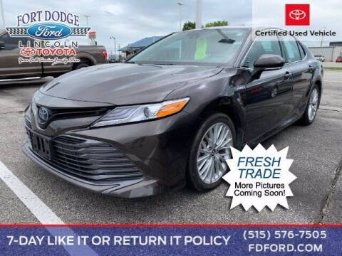 2019 Toyota Camry Hybrid for sale at Fort Dodge Ford Lincoln Toyota in Fort Dodge IA