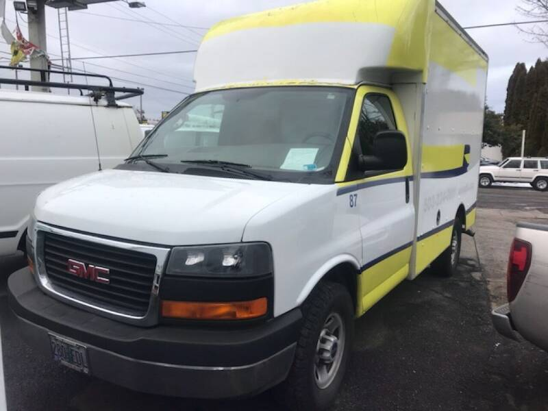 2008 GMC Savana Cutaway 3500 2dr Commercial/Cutaway/Chassis 139-177 in. WB - Portland OR