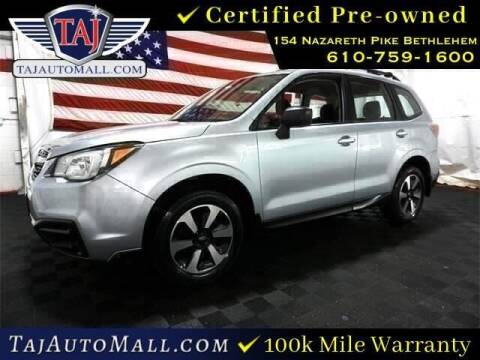 2017 Subaru Forester for sale at Taj Auto Mall in Bethlehem PA