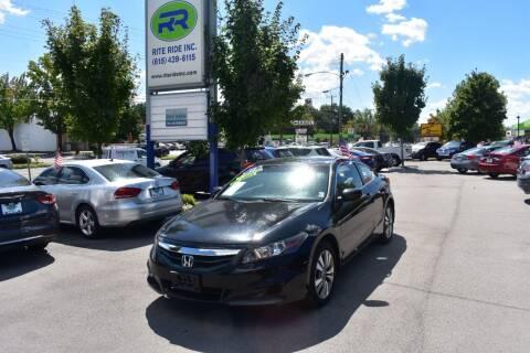 2012 Honda Accord for sale at Rite Ride Inc in Murfreesboro TN