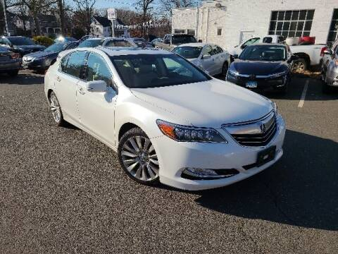 2014 Acura RLX for sale at BETTER BUYS AUTO INC in East Windsor CT