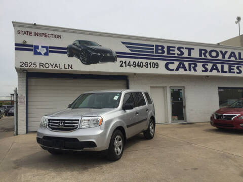2013 Honda Pilot for sale at Best Royal Car Sales in Dallas TX