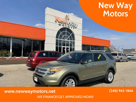 2012 Ford Explorer for sale at New Way Motors in Ferndale MI