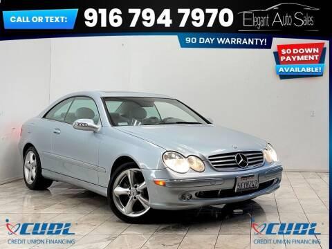 2005 Mercedes-Benz CLK for sale at Elegant Auto Sales in Rancho Cordova CA