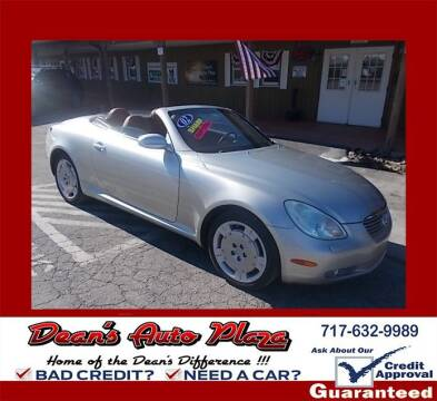 2002 Lexus SC 430 for sale at Dean's Auto Plaza in Hanover PA