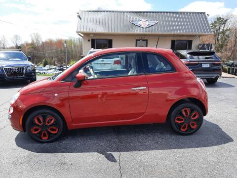 2015 FIAT 500 for sale at G AND J MOTORS in Elkin NC