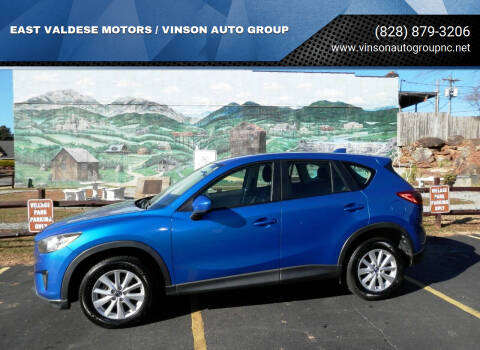 2014 Mazda CX-5 for sale at EAST VALDESE MOTORS / VINSON AUTO GROUP in Valdese NC