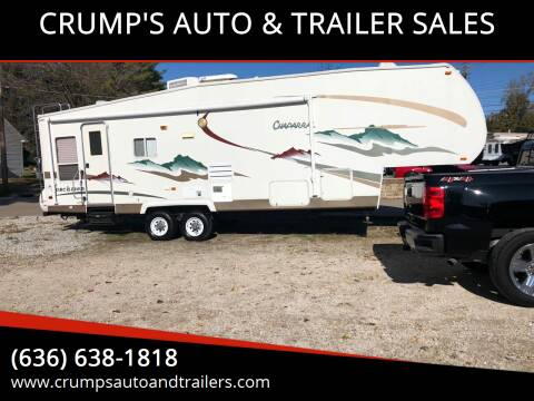 2005 Coachmen Travel Trailer for sale at CRUMP'S AUTO & TRAILER SALES in Crystal City MO