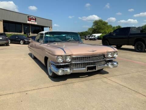1959 Cadillac DeVille for sale at KIAN MOTORS INC in Plano TX