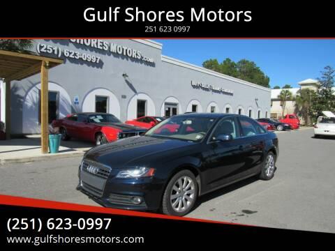 2010 Audi A4 for sale at Gulf Shores Motors in Gulf Shores AL
