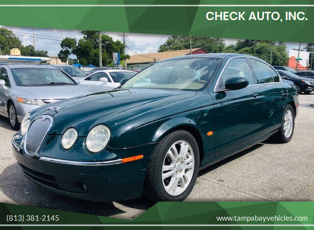 2005 Jaguar S-Type for sale at CHECK  AUTO INC. in Tampa FL