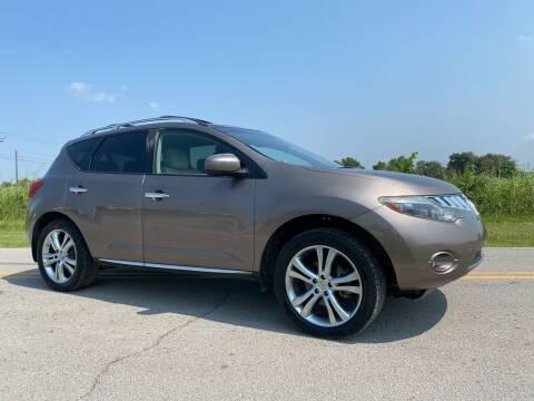 2009 Nissan Murano for sale at ILUVCHEAPCARS.COM in Tulsa OK