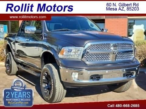 2016 RAM Ram Pickup 1500 for sale at Rollit Motors in Mesa AZ