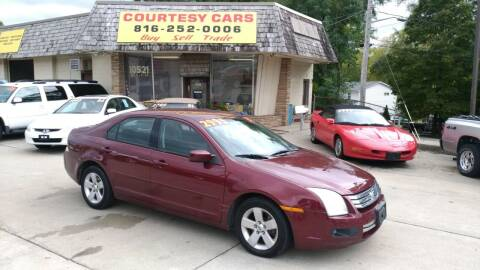 2007 Ford Fusion for sale at Courtesy Cars in Independence MO