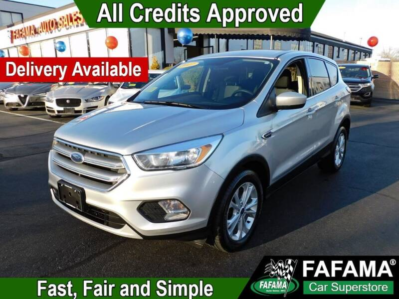 2017 Ford Escape for sale at FAFAMA AUTO SALES Inc in Milford MA