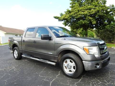 2013 Ford F-150 for sale at SUPER DEAL MOTORS 441 in Hollywood FL