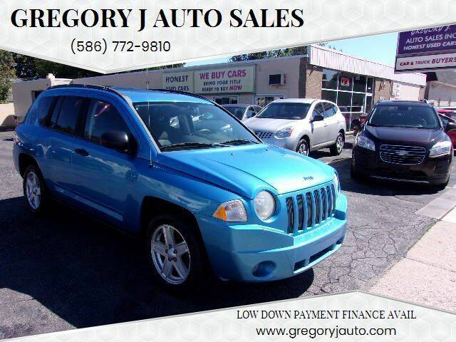 2009 Jeep Compass for sale at Gregory J Auto Sales in Roseville MI