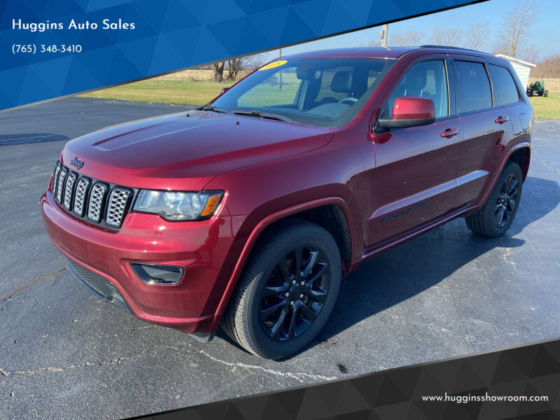 2018 Jeep Grand Cherokee for sale at Huggins Auto Sales in Hartford City IN