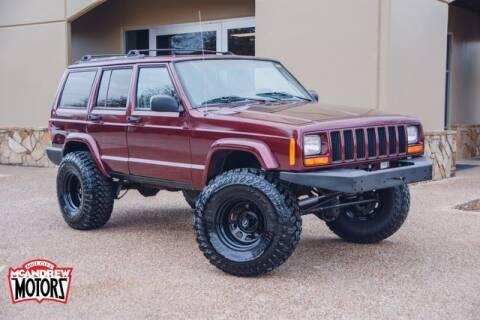 2000 Jeep Cherokee for sale at Mcandrew Motors in Arlington TX