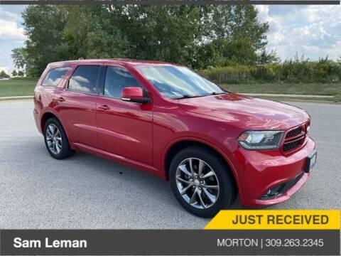 2014 Dodge Durango for sale at Sam Leman CDJRF Morton in Morton IL