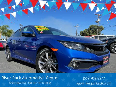 2020 Honda Civic for sale at River Park Automotive Center in Fresno CA
