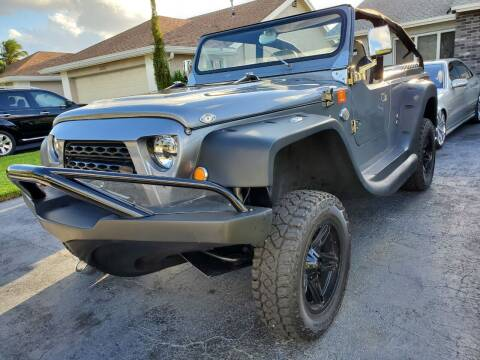 2021 JEEP PANTHER AMPHIBIEN for sale at M.D.V. INTERNATIONAL AUTO CORP in Fort Lauderdale FL
