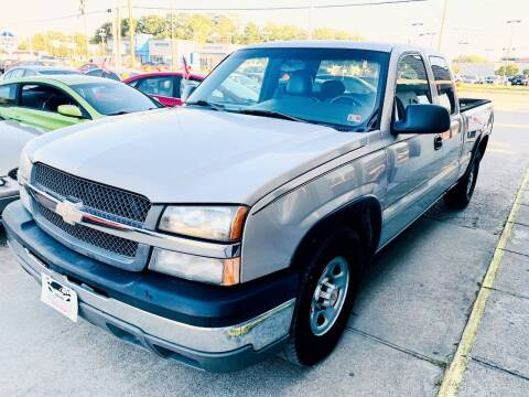 2004 Chevrolet Silverado 1500 for sale at Auto Space LLC in Norfolk VA