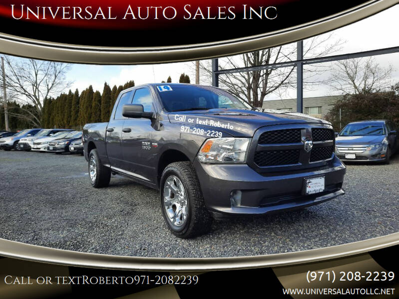 2014 RAM Ram Pickup 1500 for sale at Universal Auto Sales Inc in Salem OR