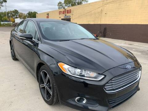 2015 Ford Fusion for sale at City Auto Sales in Roseville MI