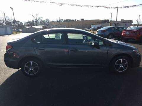 2015 Honda Civic for sale at Kenny's Auto Sales Inc. in Lowell NC