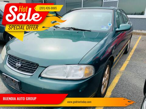 2001 Nissan Sentra for sale at BUENDIA AUTO GROUP in Hasbrouck Heights NJ
